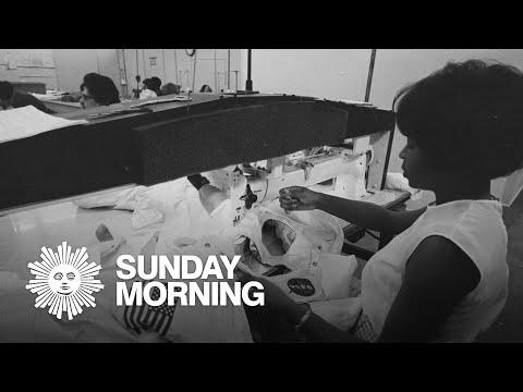 The seamstresses who fashioned Apollo's spacesuits