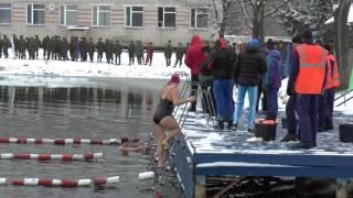 Девушки. Зимнее плавание. Вольный стиль