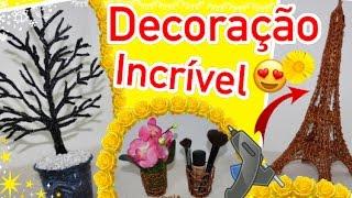 DIYs INCRÍVEIS COM COLA QUENTE - Decor with Hot Glue