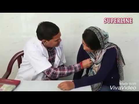 Tharki Doctor in Action | Male Vs Female Checkup |rehan world entertainment Funny Video