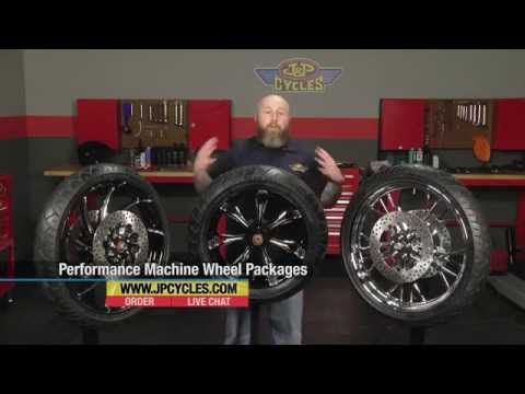 Performance Machine Wheel & Tire Packages at J&P Cyles