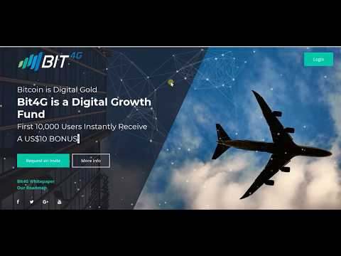 Brand New ICO BIT4G Coin | Powered by Ethereum's ERC 23 | First crypto coin