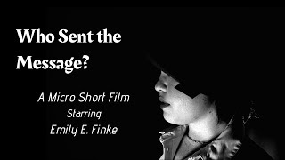 """Who Sent the Message?"" 