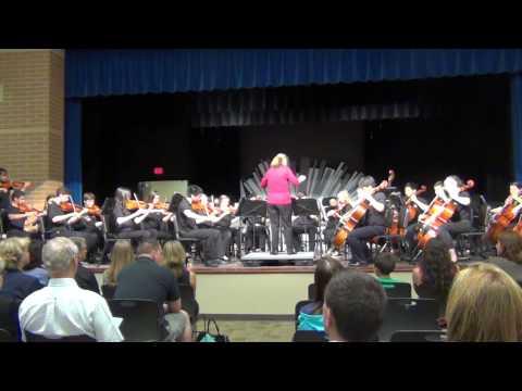 "Hamilton Southeastern Junior High School Orchestra ""Gaelic Air and Dance"""