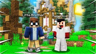 Playing With My LITTLE BROTHER in Minecraft 1.14! - Episode 9