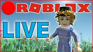 Recorded 🔴 ROBLOX LIVE 🔴 Deeter Plays Raided Mrs. Samantha