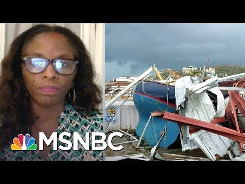 'Apocalyptic' Destruction In U.S. Virgin Islands After Hurricane Irma | The Last Word | MSNBC