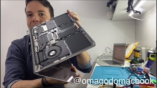 Macbook Retina 2018 A1708 não liga, no power, 820-00840