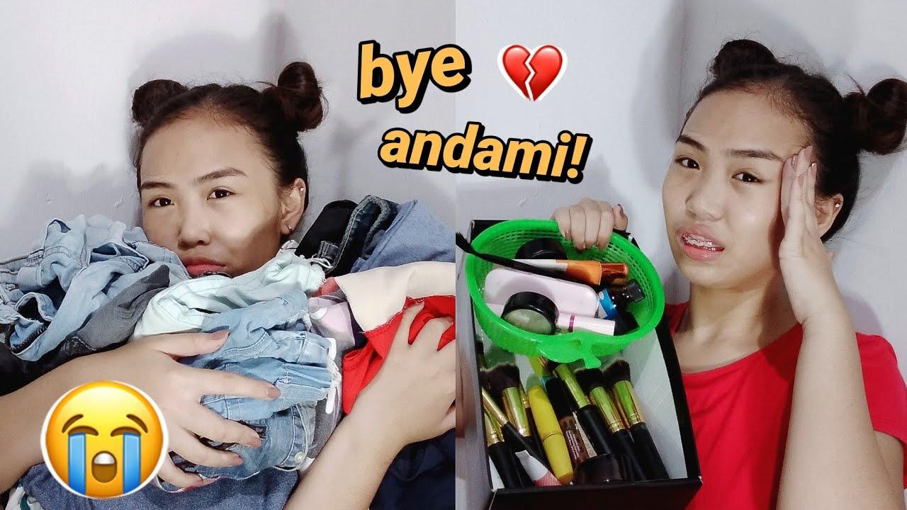 [VIDEO] - DECLUTTERING MY MAKEUP AND CLOTHES! NAKAKAPAGOD HUHUHU!   Philippines   Scherla Brazal 5