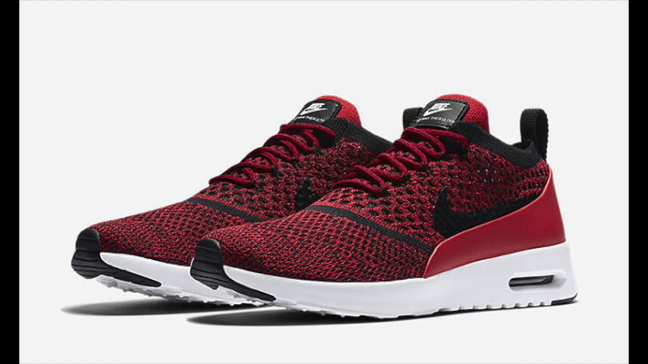 nike air max thea ultra flyknit university red youtube rh youtube com