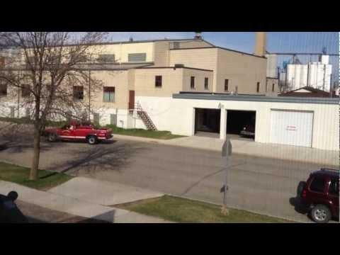 How you alert fireman in North Dakota.