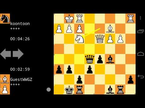 Greatest Android Games - Mobialia Chess [Online Blitz Gameplay]