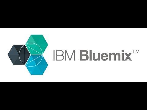 Bluemix  Cloud Foundry command line to publish apps