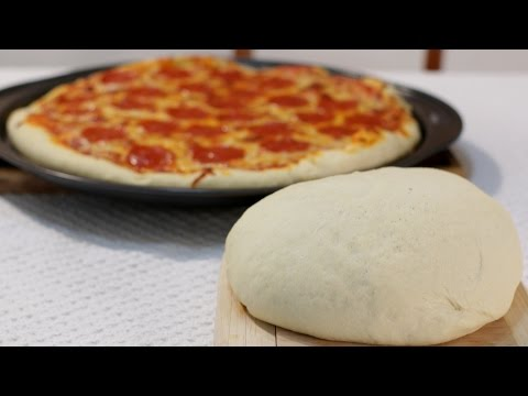 Easy Amazing Homemade Pizza Dough Recipe