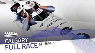 Calgary | BMW IBSF World Cup 2018/2019 - 4-Man Bobsleigh Heat 2 | IBSF Official