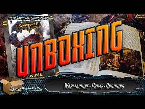 Gaming Out of the Box - Privateer Press Warmachine Prime Rulebook Review