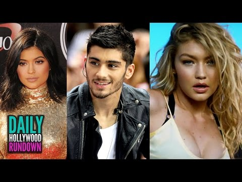 Zayn Malik FLIRTS With Kylie Jenner? - Gigi Hadid & Calvin Harris' Sexy Music Video (DHR)
