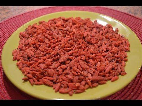 jagody goji z czym jeść
