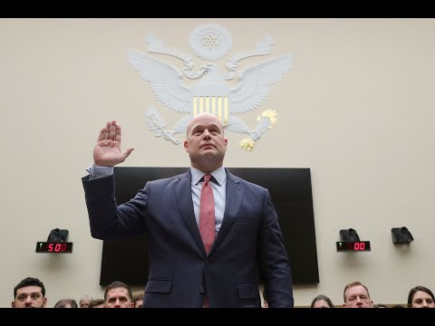 Frustration erupts on both sides at Whitaker's House testimony