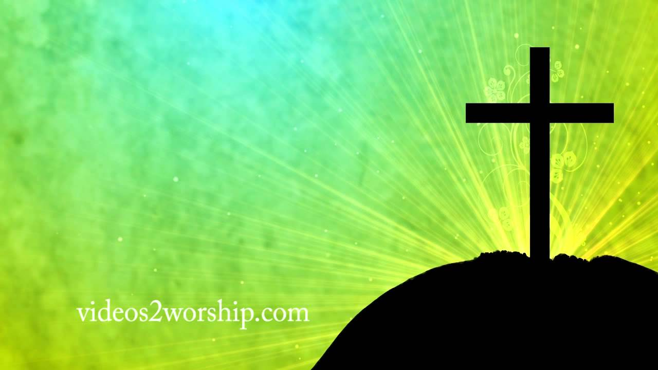 easter cross worship background videos2worship youtube