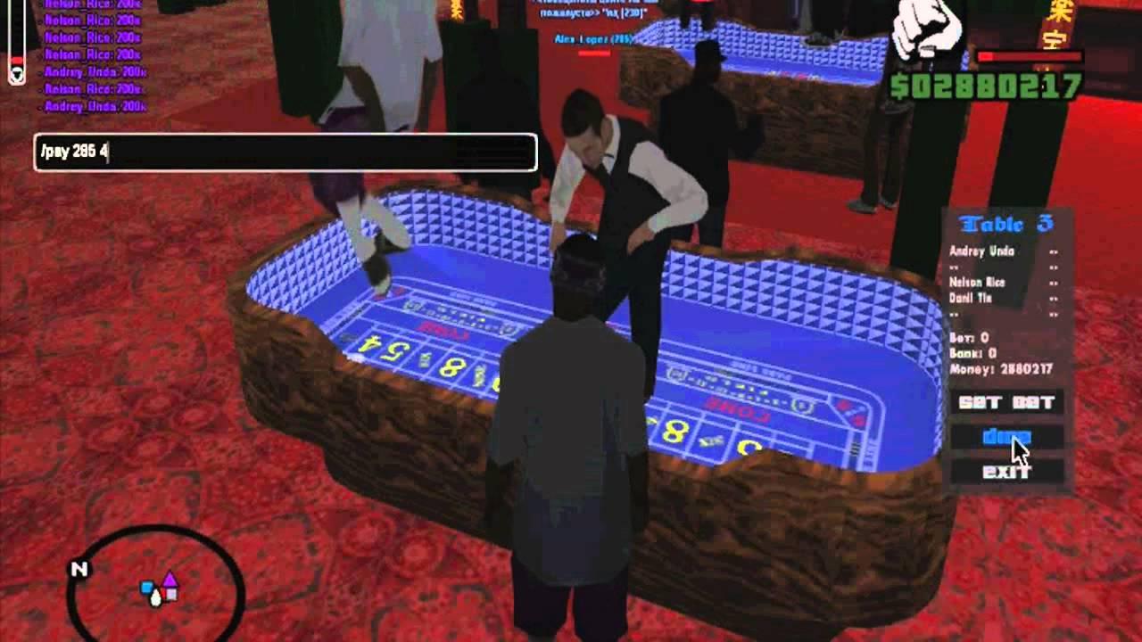 Как выиграть в казино 4 дракона в GTA SAMP RP 8