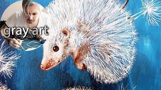Картина акриловыми красками / Картина для интерьера