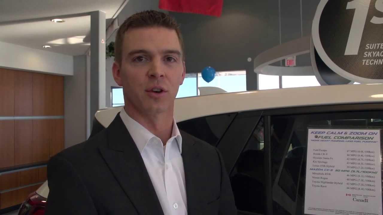 Sundance Mazda Sales >> Meet Derek Beaulieu Sales Manager Sundance Mazda Edmonton Alberta