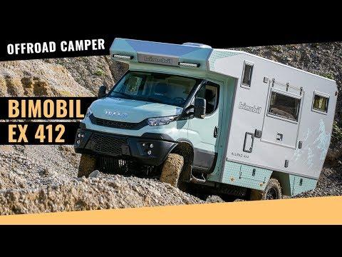 Bimobil Camper EX 412 auf Iveco Daily 4x4 Basis im Test (2018)