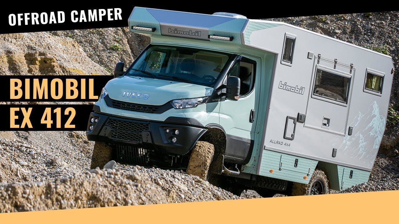 bimobil camper ex 412 auf iveco daily 4x4 basis im test. Black Bedroom Furniture Sets. Home Design Ideas