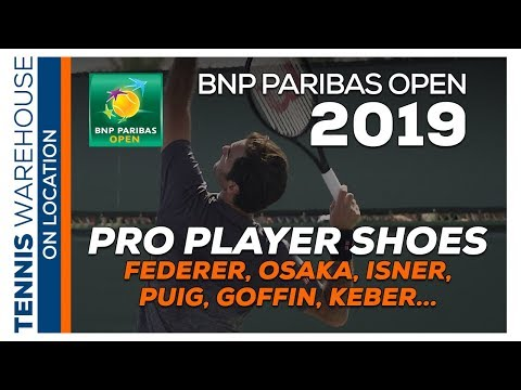 TW At BNP Paribas Open: Tennis Shoes The ATP & WTA Players Are Wearing (Federer, Osaka)