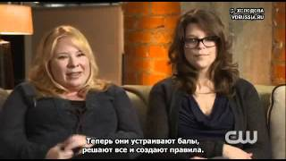 """Джули Плек и Кэролайн Драйс о 3х14 """"Опасные Связи"""""""
