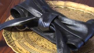 видео Женские ремни и пояса