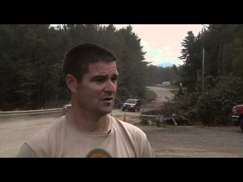 Pittsfield, VT Emergency Managment Coordinators talks about National Guard Hurricane assistance