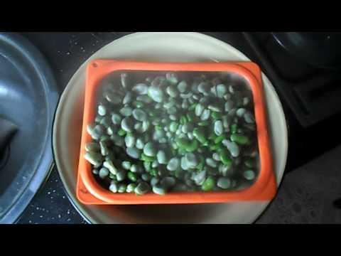 Как сушить бобы на зиму