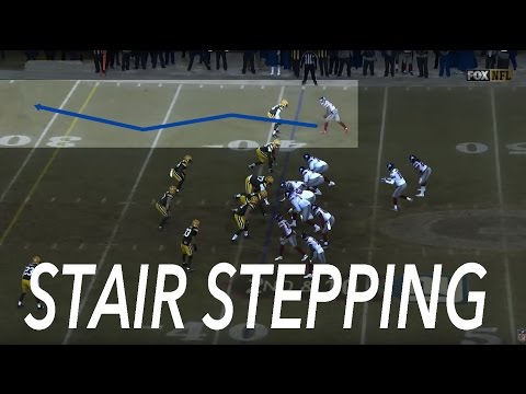 How Odell Beckham & Other NFL WR Run Deep Routes [STAIR STEPPING]