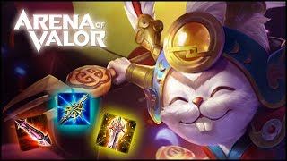 ¡¡LA NUEVA BUILD PRO DE SLIMZ PARA CARRILEAR PARTIDAS!! | Navalha - Arena of Valor