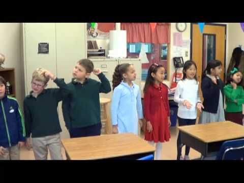 2B French Class - Les Clowns - YouTube