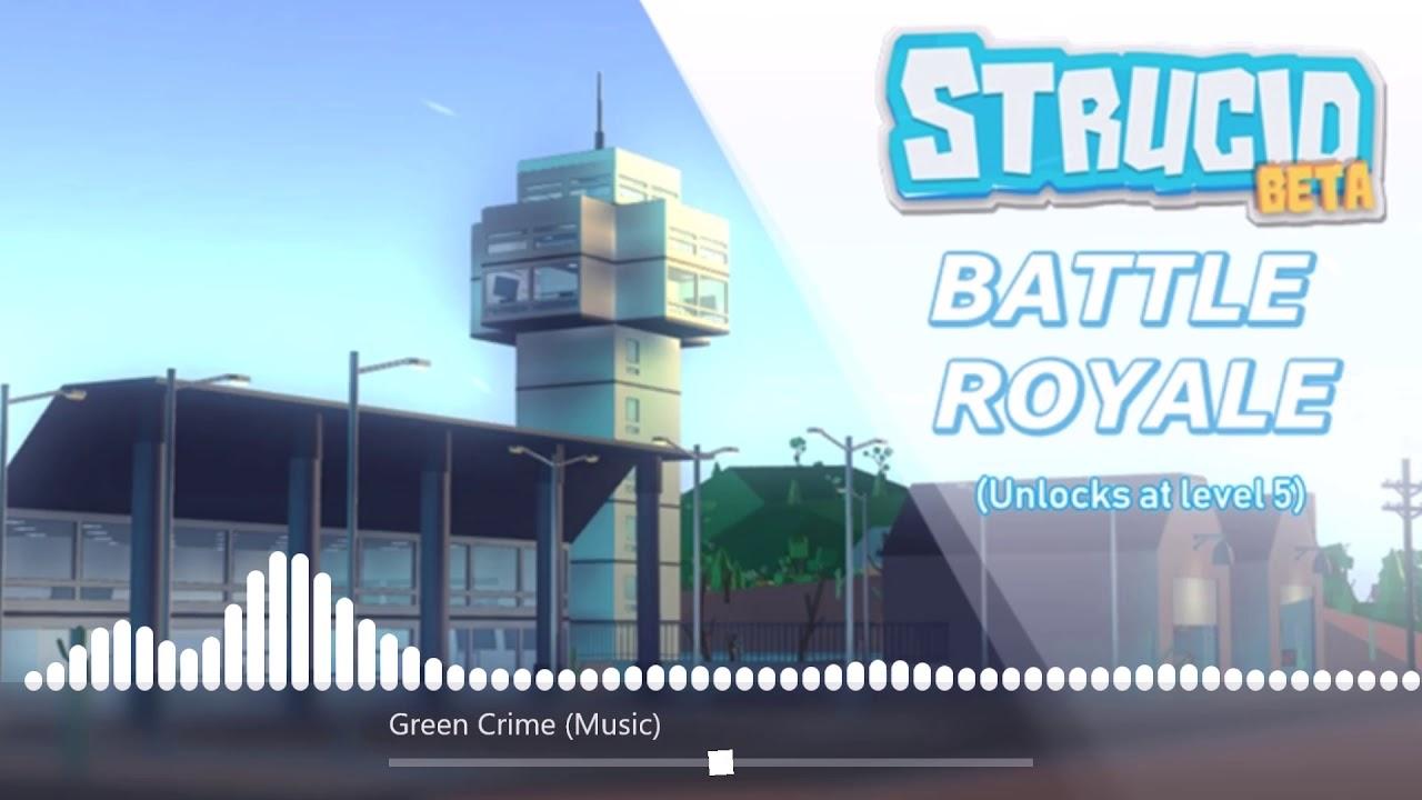 strucid green crime  youtube