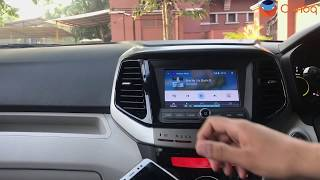 Mahindra XUV300 Infotainment system & speedometer console explained