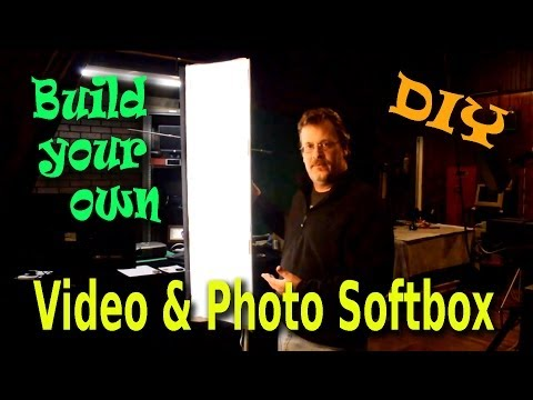 DIY Video & Photo Softbox Built From Common Parts
