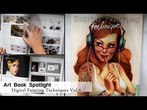 art-book-spotlight:-digital-painting-techniques-volume-7