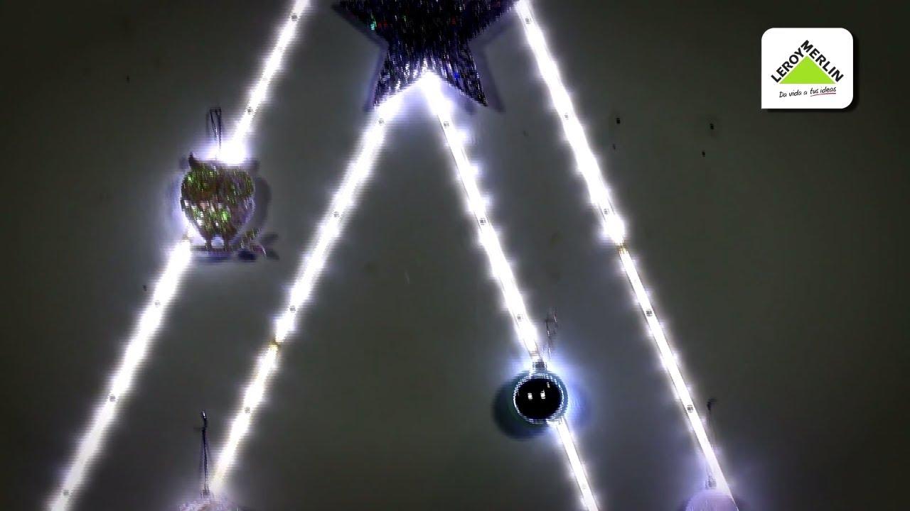 C mo crear un rbol de navidad luminoso leroy merlin - Arbol navidad leroy ...