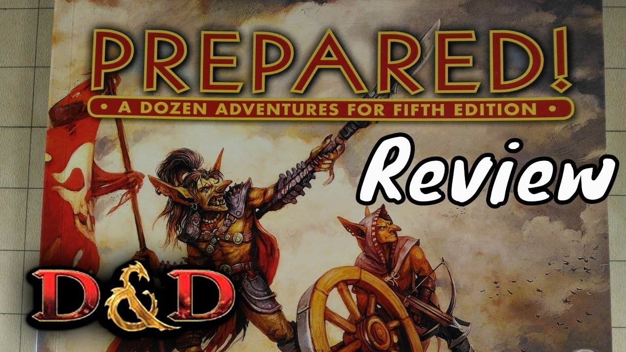 D&D (5e): Prepared Book Review - Kobold Press (Spoilers)