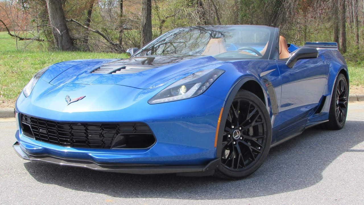 2015 Chevrolet Corvette Z06 Convertible Start Up, Test ...