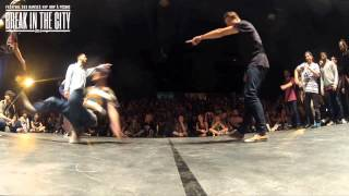 LA SMALA vs ANIMANIAXXX (BREAK IN THE CITY 2014) WWW.BBOYWORLD.COM thumbnail