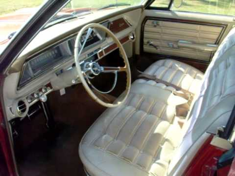 Chevrolet Caprice 1966 4dr HT for sale Interior - YouTube