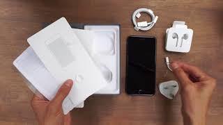 Mở hộp và thiết lập iPhone 8 Plus