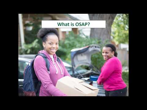 Accessing the 'new' OSAP and other considerations for students on low incomes