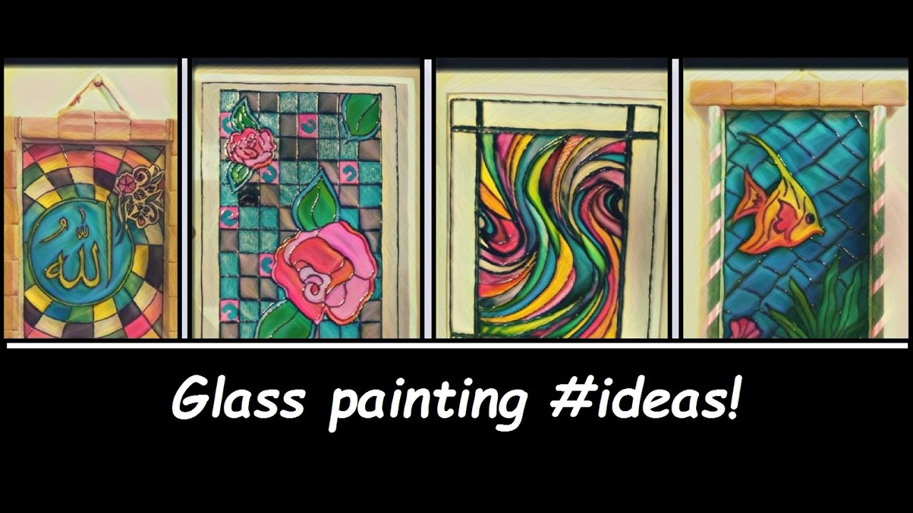Very Glass Painting Ideas! - YouTube DB05