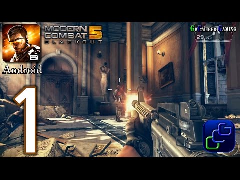 Modern Combat 5: Blackout Android Walkthrough - Gameplay Part 1 - Chapter 1: Venice The Lie